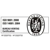 Logo ISO 9001 - 14001