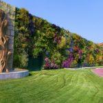 Jardín vertical  más  grande del mundo Rozzano, Italia.