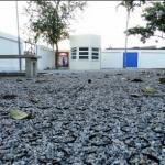Pavimento permeable / isla de calor