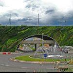 El Puente Max-Juvénal en Aix-en-Provence (Francia) Patrick Blanc