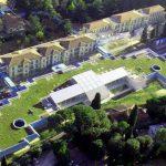 Ecotejados Hospital Pediátrico de Meyer en Florencia, Italia.