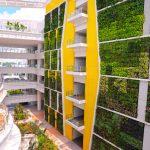 Jardínes verticales de 35 metros de altura en Singapur