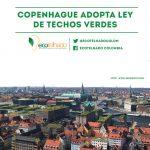 Copenhague adopta ley de techos verdes