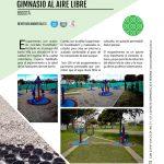 Pavimento permeable – gimnasio al aire libre