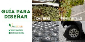 Guía para diseñar, cubiertas verdes, jardines verticales y otros elementos de infraestructura verde urbana
