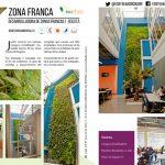 Proyecto Desarrolladora de zonas francas – jardin vertical Bogotá