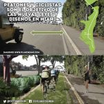Peatones y ciclistas son el-objetivo de las nuevas leyes y disenos en Miami plan z