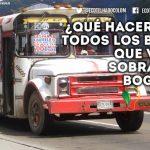 chatarrización en Bogotá, transporte publico proyecto viable