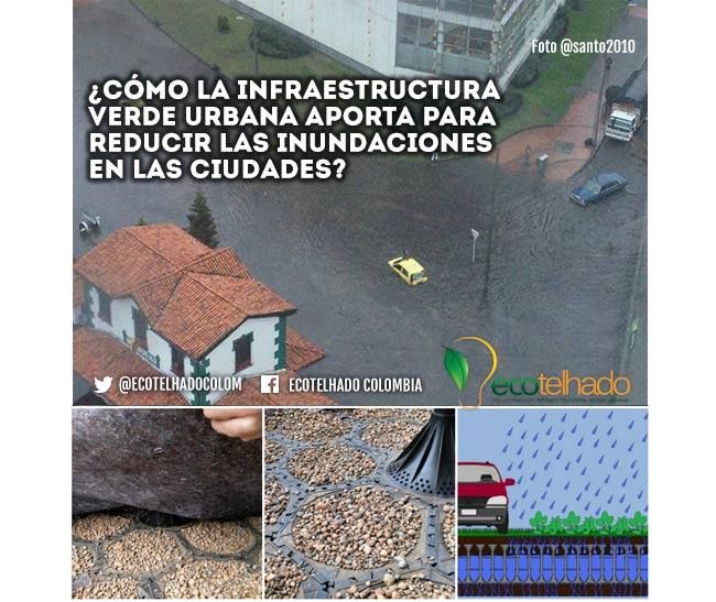 infraestructura verde urbana evitando inundaciones