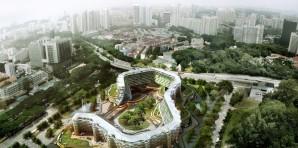 Cubiertas Verdes, Jardines Verticales y Granjas Verticales evolucionan en Arquitectura Viva para la ciudad.